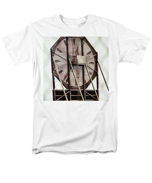 Behind The Colgate Clock  Men's T-Shirt  (Regular Fit) by Sandy Taylor