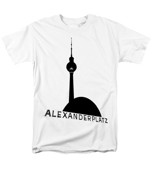 Berlin Alexanderplatz Men's T-Shirt  (Regular Fit) by Julie Woodhouse