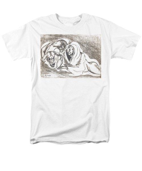 betrayal. May, 1996 Men's T-Shirt  (Regular Fit) by Tatiana Chernyavskaya
