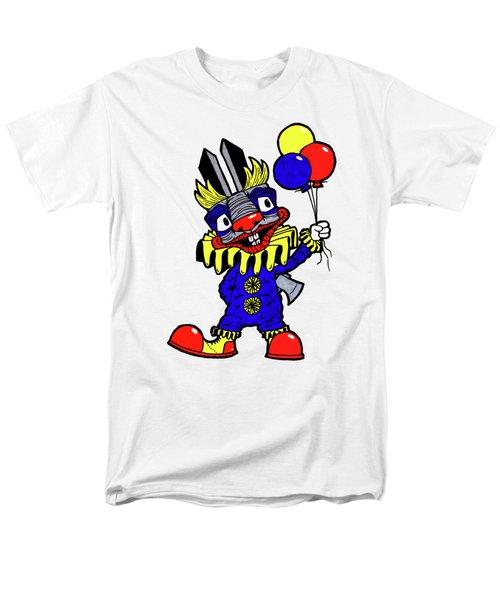 Binky The Bunny Clown Men's T-Shirt  (Regular Fit) by Bizarre Bunny