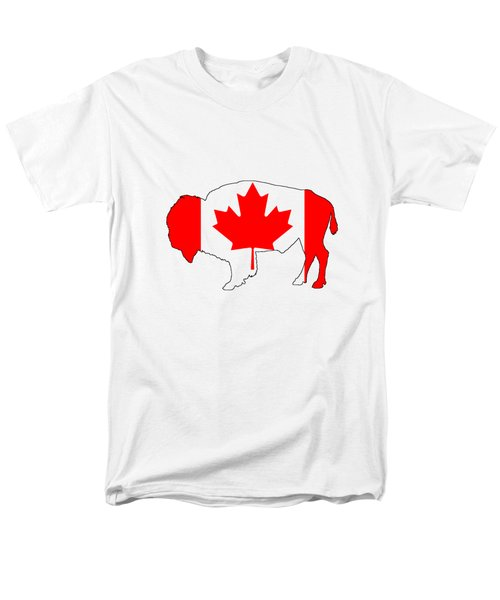 Bison Canada Men's T-Shirt  (Regular Fit) by Mordax Furittus