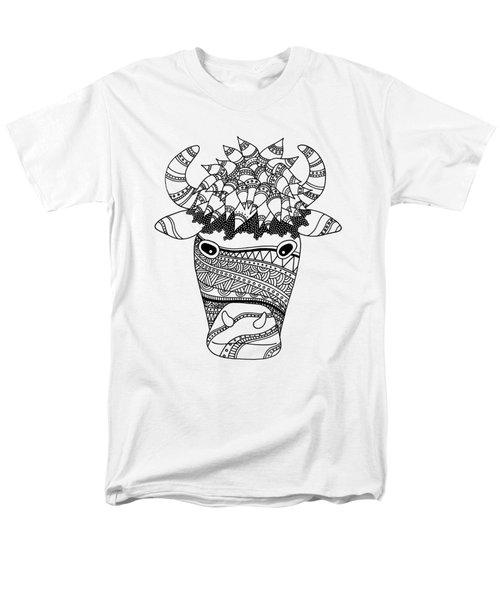 Bison Men's T-Shirt  (Regular Fit) by Sarah Rosedahl
