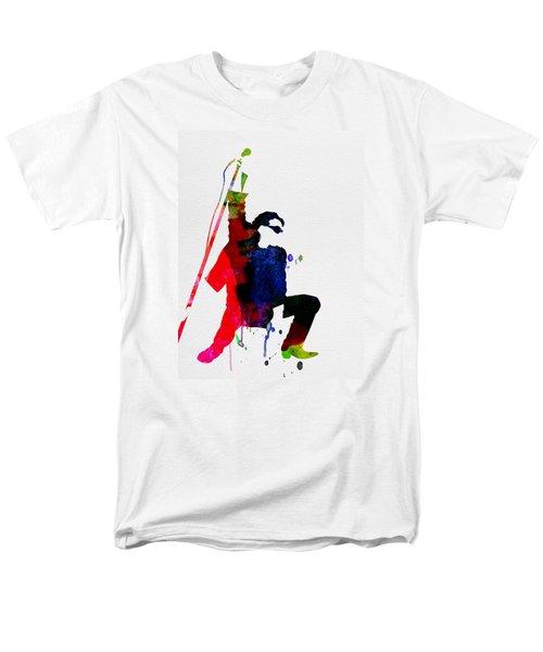 Bono Watercolor Men's T-Shirt  (Regular Fit) by Naxart Studio