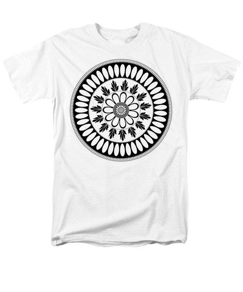 Botanical Ornament Men's T-Shirt  (Regular Fit) by Frank Tschakert