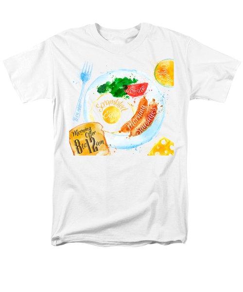 Breakfast 04 Men's T-Shirt  (Regular Fit) by Aloke Design