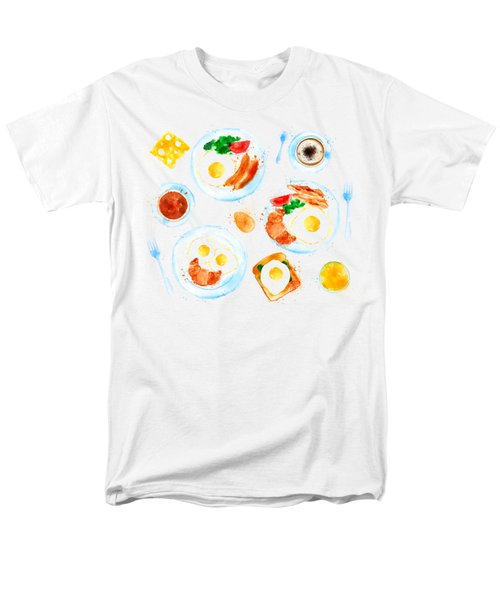 Breakfast 05 Men's T-Shirt  (Regular Fit) by Aloke Design
