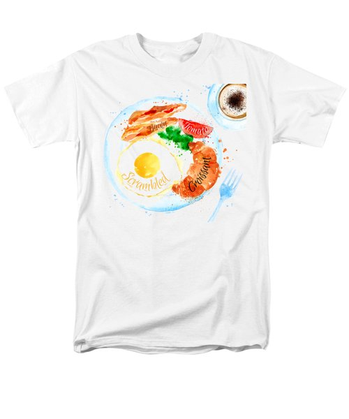 Breakfast 03 Men's T-Shirt  (Regular Fit) by Aloke Design