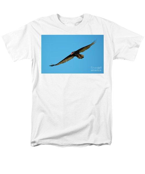 Buzzard Circling Men's T-Shirt  (Regular Fit) by Mike Dawson