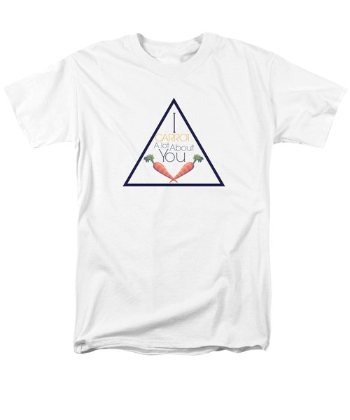 Carrot About You Pyramid Men's T-Shirt  (Regular Fit) by Lunar Harvest Designs