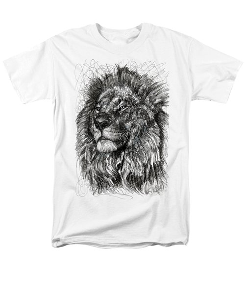 Cecil The Lion Men's T-Shirt  (Regular Fit) by Michael  Volpicelli