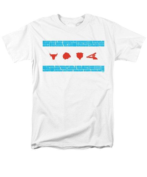Chicago Flag Sports Teams V2 Men's T-Shirt  (Regular Fit) by Mike Maher