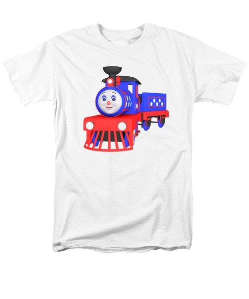 Choo-choo The Train - 1 Men's T-Shirt  (Regular Fit) by Yulia Litvinova