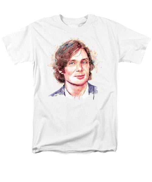 Cillian Murphy Men's T-Shirt  (Regular Fit) by Marian Voicu