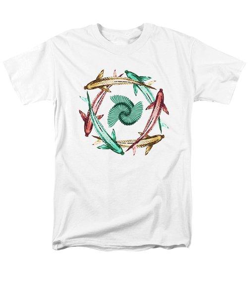 Circle Men's T-Shirt  (Regular Fit) by Deborah Smith