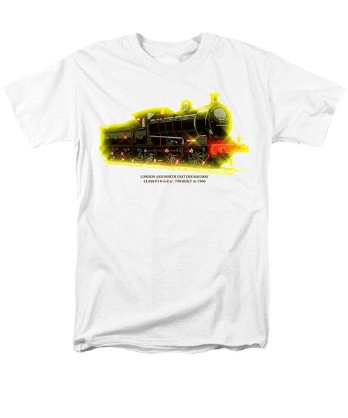 Classic British Steam Locomotive Men's T-Shirt  (Regular Fit) by Aapshop