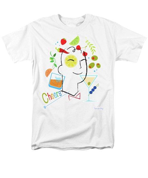 Cocktail Time Men's T-Shirt  (Regular Fit) by Lisa Henderling