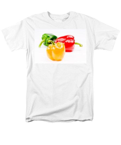 colorful sweet peppers T-Shirt by Setsiri Silapasuwanchai
