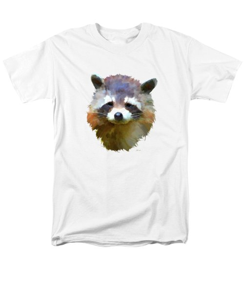 Colourful Raccoon Men's T-Shirt  (Regular Fit) by Bamalam  Photography