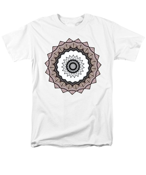 Construction Mandala By Kaye Menner Men's T-Shirt  (Regular Fit) by Kaye Menner