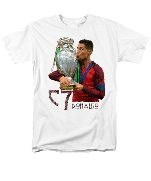 Cristiano Ronaldo Men's T-Shirt  (Regular Fit) by Armaan Sandhu