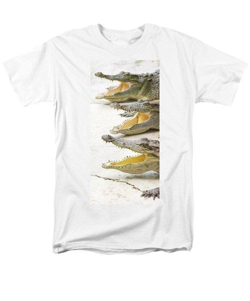 Crocodile Choir Men's T-Shirt  (Regular Fit) by Jorgo Photography - Wall Art Gallery