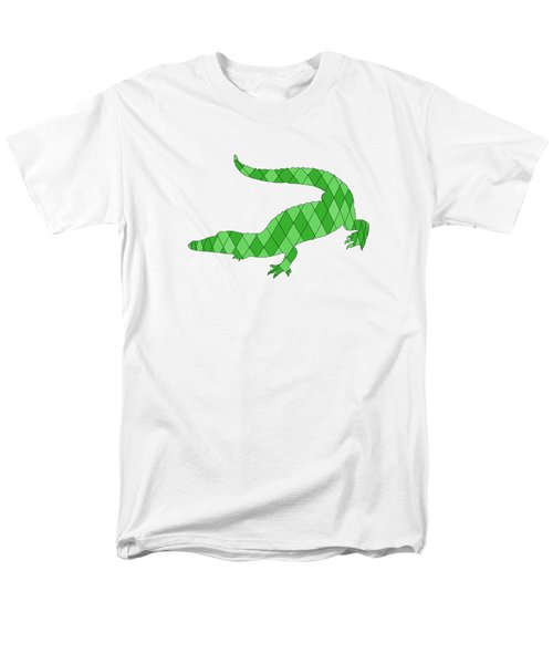 Crocodile Men's T-Shirt  (Regular Fit) by Mordax Furittus