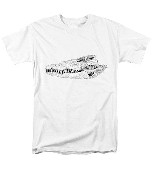 Crocodile Skull Men's T-Shirt  (Regular Fit) by Yuriy Shachnev