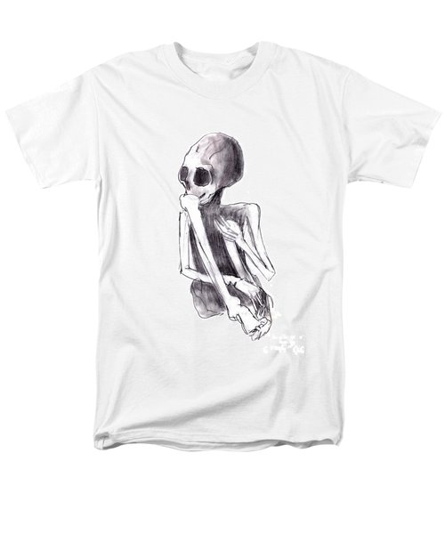 crouched skeleton T-Shirt by Michal Boubin