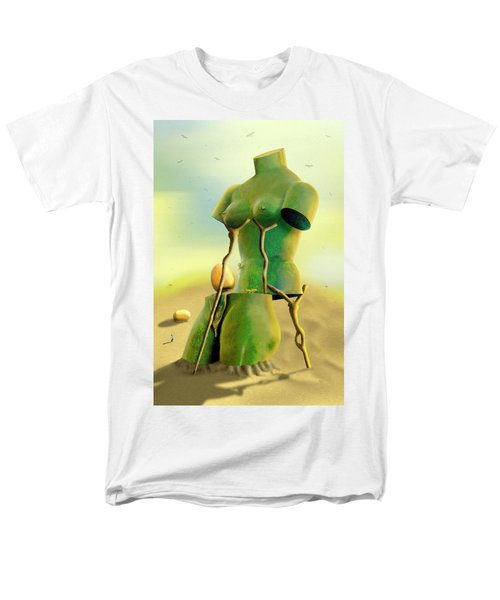 Crutches 2 Men's T-Shirt  (Regular Fit) by Mike McGlothlen
