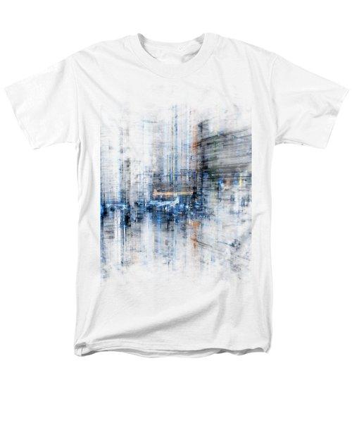 Cyber City Design Men's T-Shirt  (Regular Fit) by Martin Capek