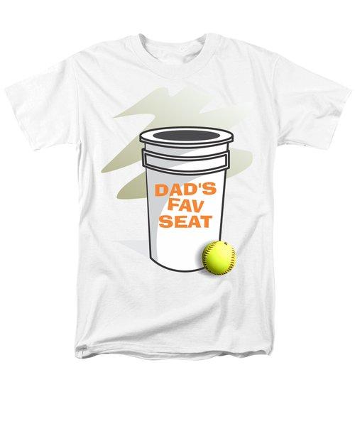 Dad's Fav Seat Men's T-Shirt  (Regular Fit) by Jerry Watkins