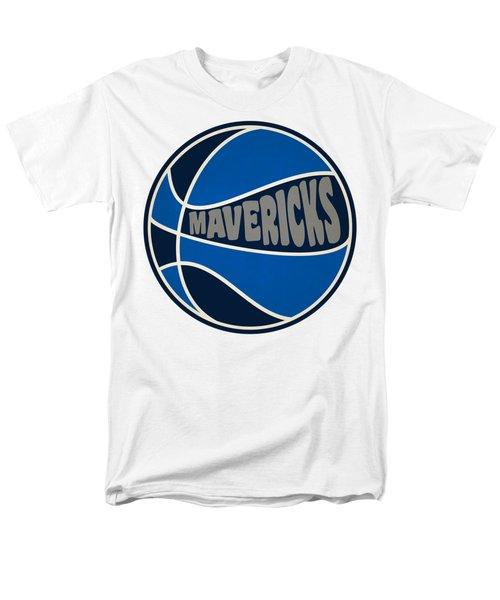 Dallas Mavericks Retro Shirt Men's T-Shirt  (Regular Fit) by Joe Hamilton
