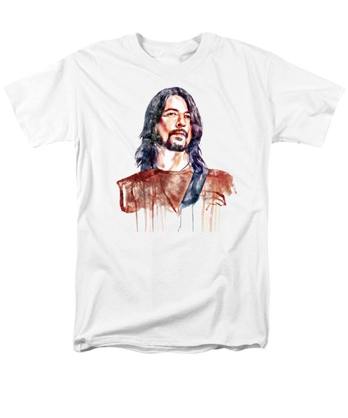 Dave Grohl  Men's T-Shirt  (Regular Fit) by Marian Voicu