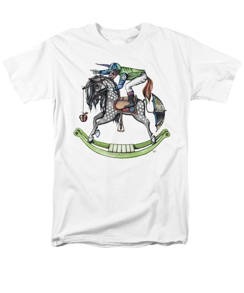 Day At The Races Men's T-Shirt  (Regular Fit) by Kelly Jade King