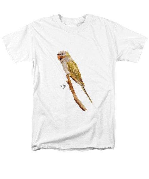 Derbyan Parakeet Men's T-Shirt  (Regular Fit) by Angeles M Pomata