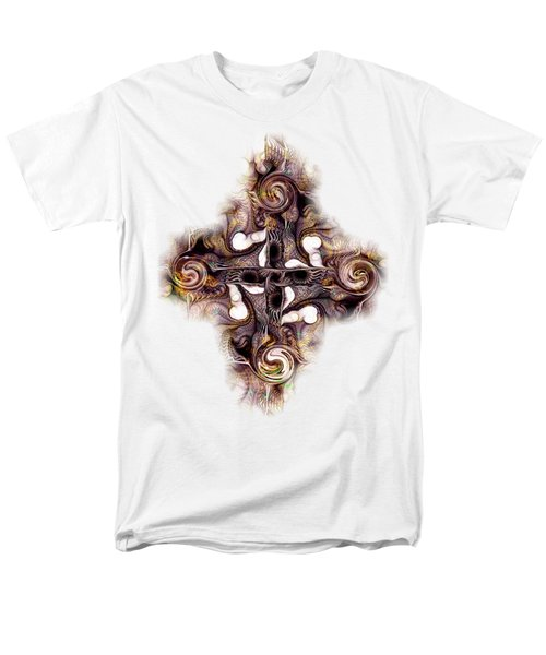 Desert Cross Men's T-Shirt  (Regular Fit) by Anastasiya Malakhova