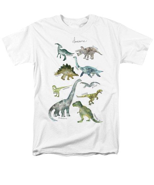 Dinosaurs Men's T-Shirt  (Regular Fit) by Amy Hamilton