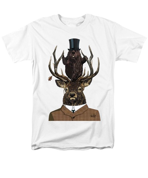 The Earl And Council With Hidden Pictures Men's T-Shirt  (Regular Fit) by Konni Jensen