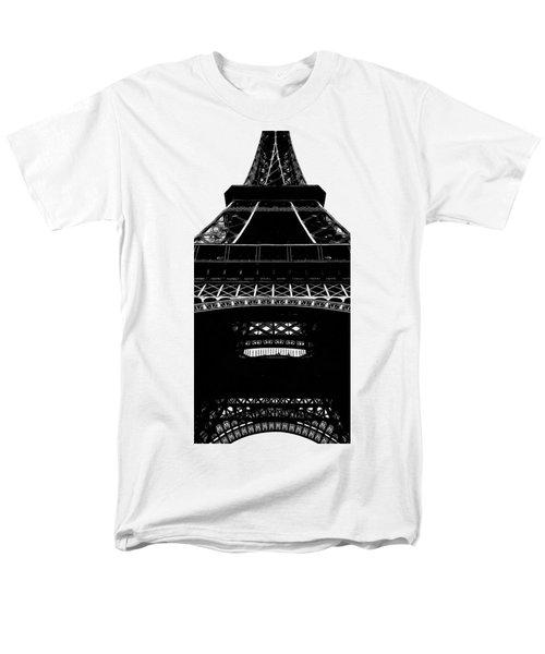 Eiffel Tower Paris Graphic Phone Case Men's T-Shirt  (Regular Fit) by Edward Fielding
