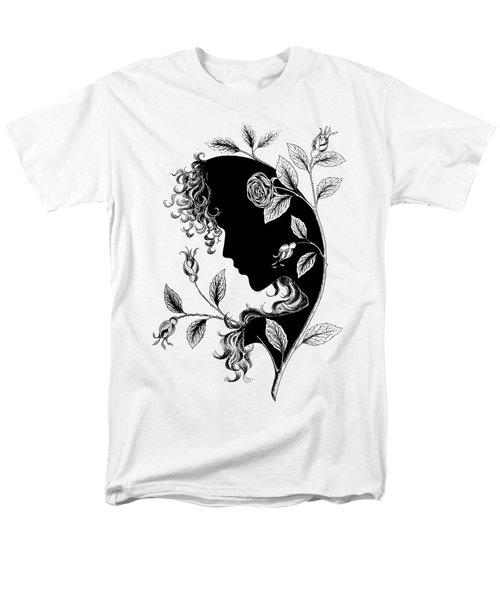 Elf In Roses Men's T-Shirt  (Regular Fit) by Magdalene's Art