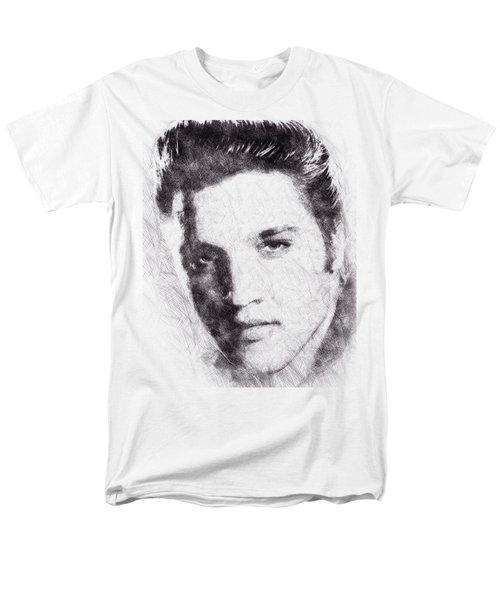 Elvis Presley Portrait 02 Men's T-Shirt  (Regular Fit) by Pablo Romero