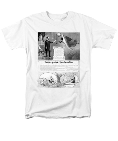 Emancipation Proclamation T-Shirt by War Is Hell Store