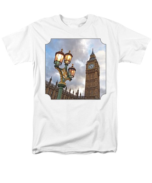 Evening Light At Big Ben Men's T-Shirt  (Regular Fit) by Gill Billington