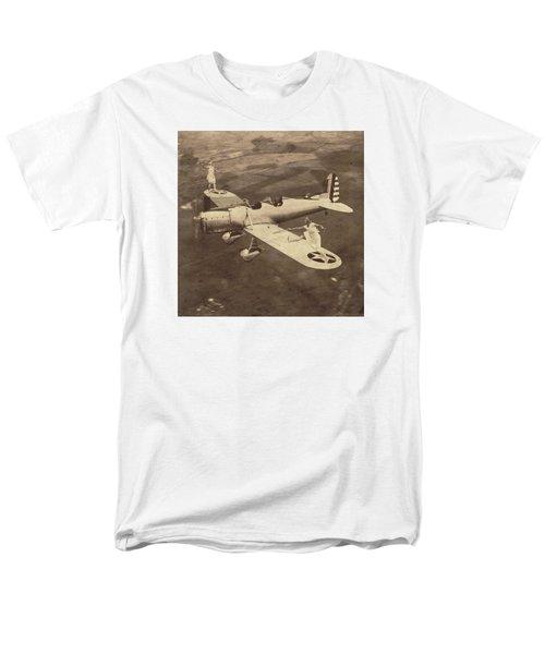 Extreme Tennis Men's T-Shirt  (Regular Fit) by Marian Voicu
