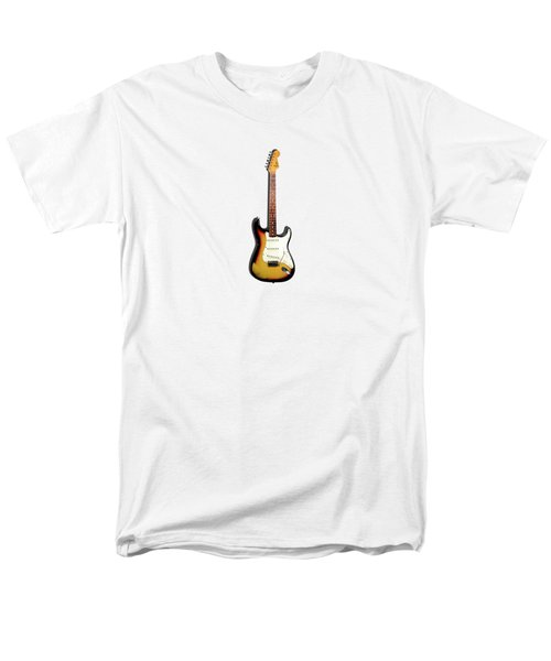 Fender Stratocaster 65 Men's T-Shirt  (Regular Fit) by Mark Rogan