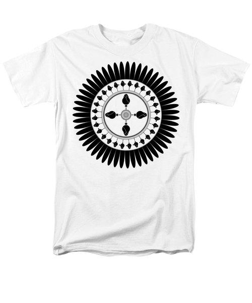 Floral Ornament Men's T-Shirt  (Regular Fit) by Frank Tschakert