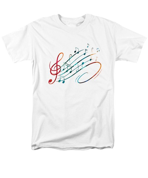Fluid Depths Alcohol Ink Abstract Men's T-Shirt  (Regular Fit) by Nikki Marie Smith
