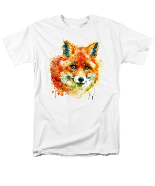 Fox Head Men's T-Shirt  (Regular Fit) by Marian Voicu