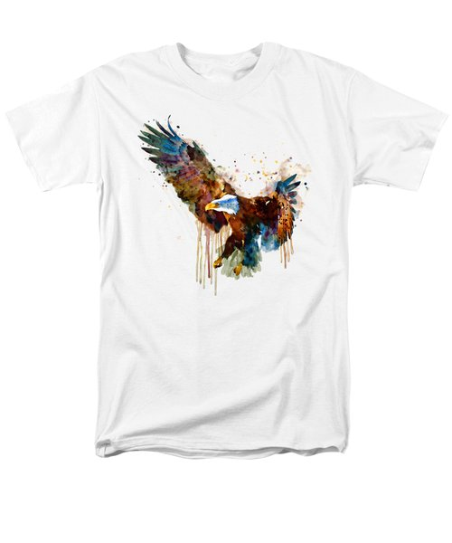 Free And Deadly Eagle Men's T-Shirt  (Regular Fit) by Marian Voicu