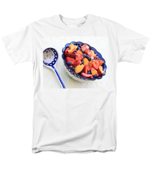 Fruit Salad with Spoon T-Shirt by Carol Groenen